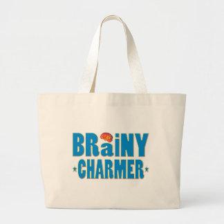 Brainy Charmer Canvas Bags