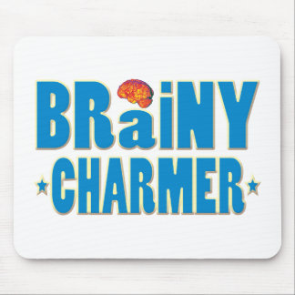 Brainy Charmer Mouse Pad
