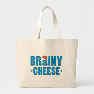 Brainy Cheese Tote Bags