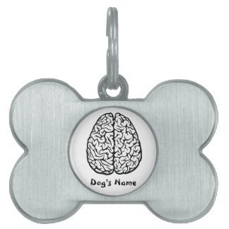 Brainy Dog Tag