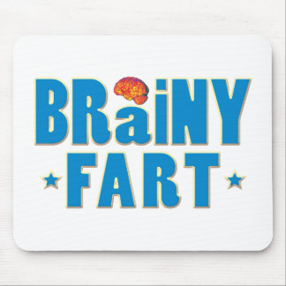 Brainy Fart Mouse Pad