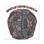 Brainy Geek Canvas Print