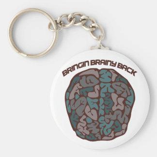 Brainy Geek Keychain
