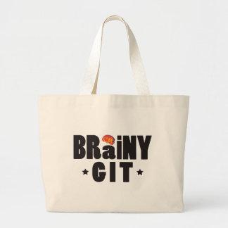 Brainy Git K Canvas Bags