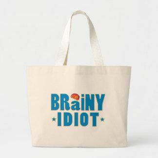 Brainy Idiot Tote Bag