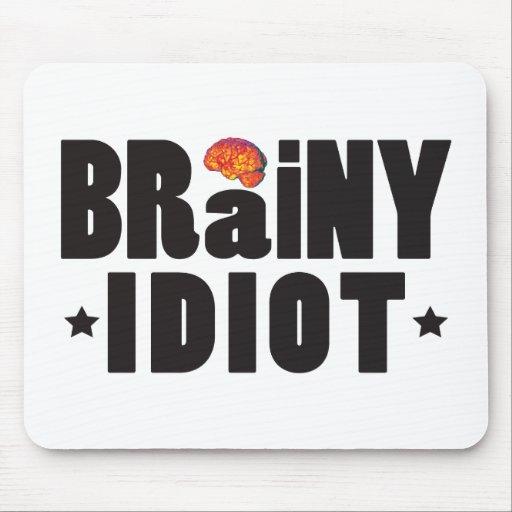 Brainy Idiot K Mousepad