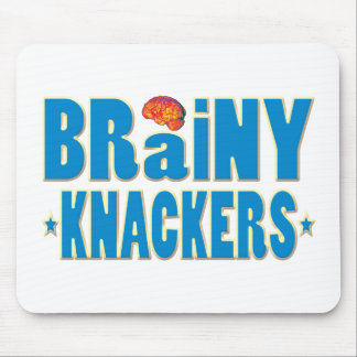 Brainy Knackers Mouse Pad