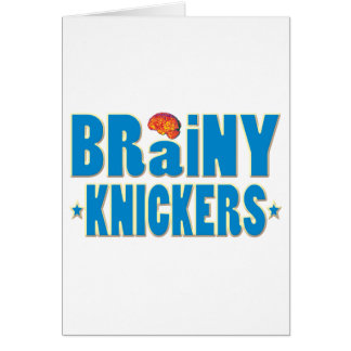 Brainy Knickers Card