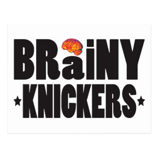 Brainy Knickers K Post Card