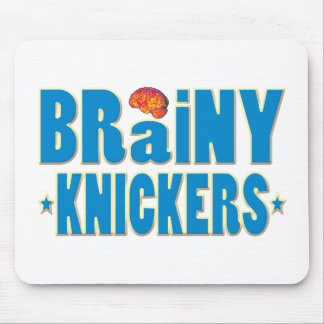 Brainy Knickers Mouse Pad