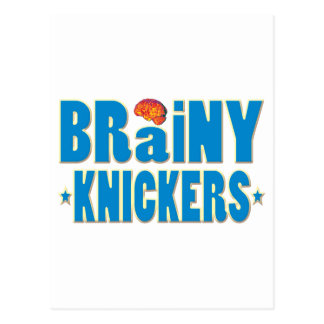 Brainy Knickers Post Card