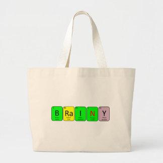 BRaINY Large Tote Bag