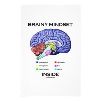 Brainy Mindset Inside (Anatomical Brain) Stationery