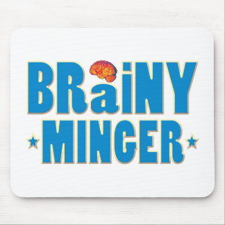 Brainy Minger Mouse Pad