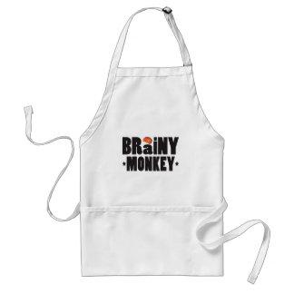 Brainy Monkey K Adult Apron