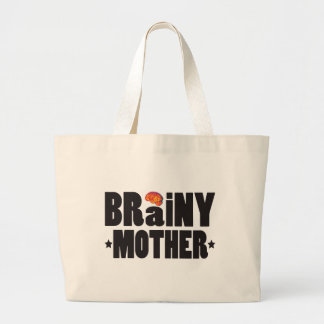 Brainy Mother K Tote Bags