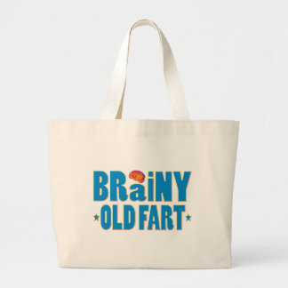 Brainy Old Fart Canvas Bags