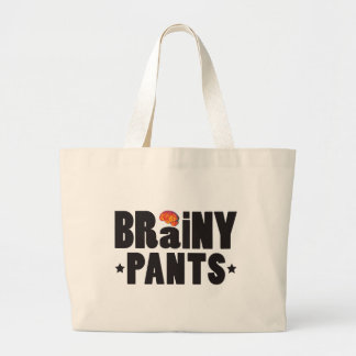 Brainy Pants K Tote Bags