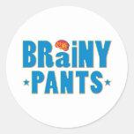 Brainy Pants Sticker