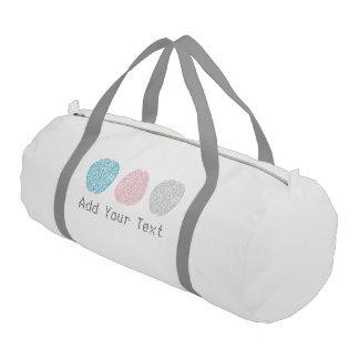 Brainy Pastel Pattern (Awesome Pastel Brains) Gym Bag