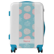 Brainy Pastel Pattern (Awesome Pastel Brains) Luggage