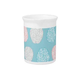 Brainy Pastel Pattern Beverage Pitchers