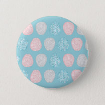 Brainy Pastel Pattern Pinback Button