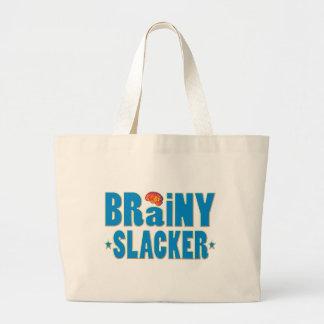 Brainy Slacker Tote Bags