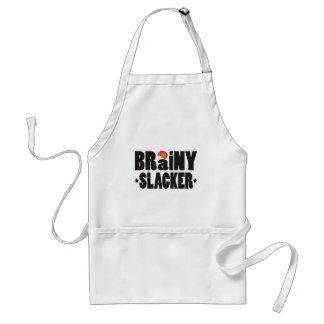 Brainy Slacker K Adult Apron