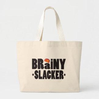 Brainy Slacker K Tote Bag