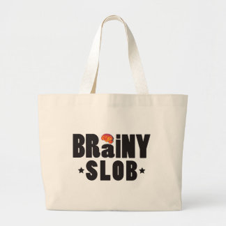 Brainy Slob K Tote Bag