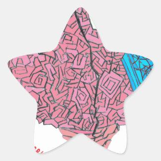 Brainy Star Sticker
