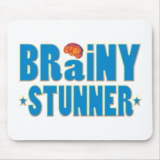 Brainy Stunner Mouse Pad