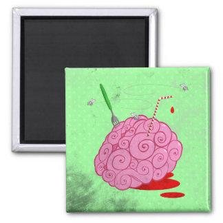 Brainz 2 Inch Square Magnet