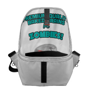 Brainz - Baked Beings Brains for Zombies Courier Bag