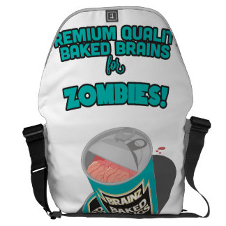 Brainz - Baked Beings Brains for Zombies Messenger Bag
