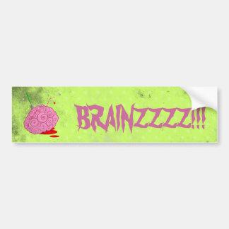Brainz Car Bumper Sticker