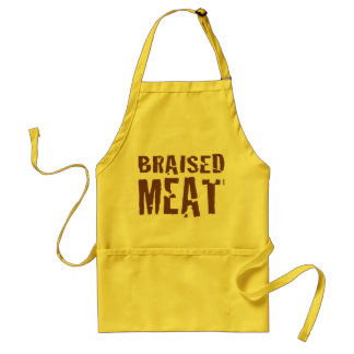 Braised Meat Adult Apron