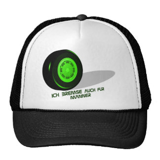 Brake for man green hats