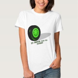 Brake for man green t shirts