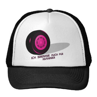 Brake for measure-he-pink hat