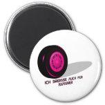 Brake for measure-he-pink magnet
