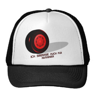 Brake for measure he red trucker hats