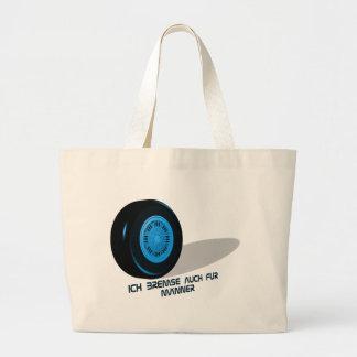 Brake for measure-hereditarytepid large tote bag