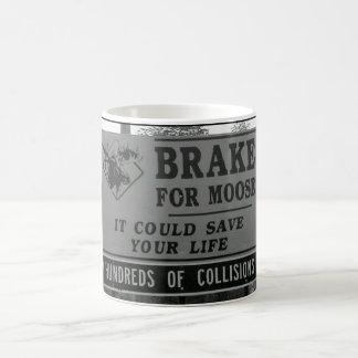 Brake for Moose Coffee Mug