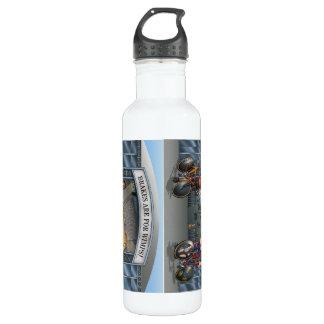 Brakes Are For Wimps! beverage bottle 24oz Water Bottle