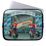 Brakes Are For Wimps! laptop sleeve