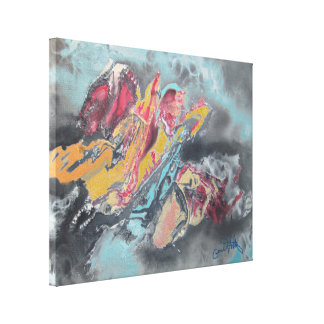 Braking Free Canvas Print