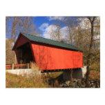Braley Covered Bridge East Randolph Vermont Post Card