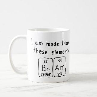 Bram periodic table name mug